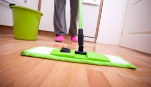 لتنظيف منزلك الجديد