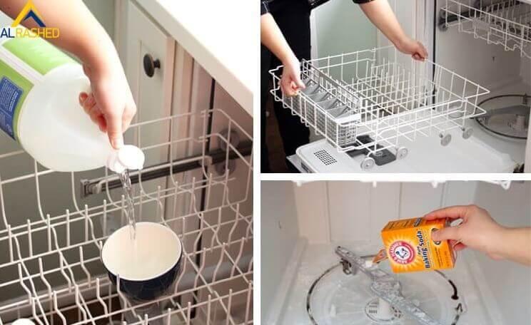 الطريقة المثالية لتنظيف غسالة الصحون