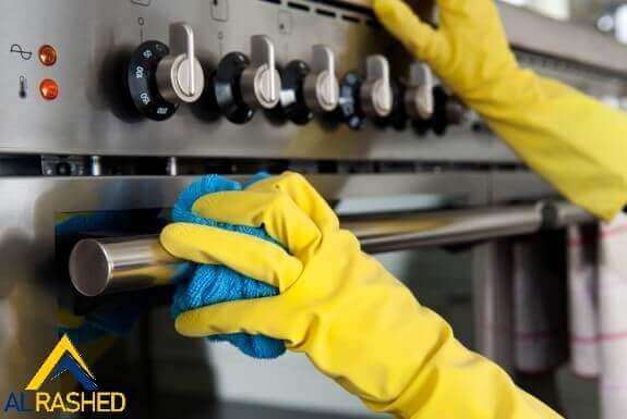 كيفية تنظيف الفرن الكهربائي
